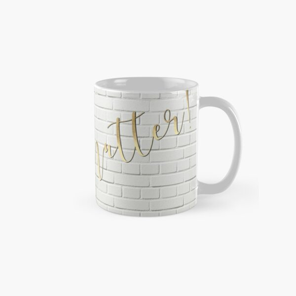 YOU matter ! Gold, Bricks Classic Mug