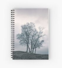 A Dance With Nature by Cat Burton Spiral Notebook