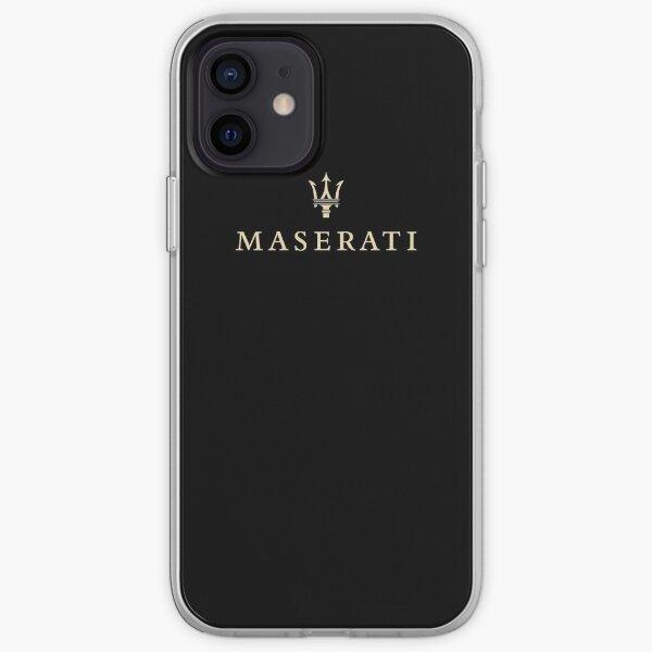 Logo Maserati Logo Maserati Coque souple iPhone