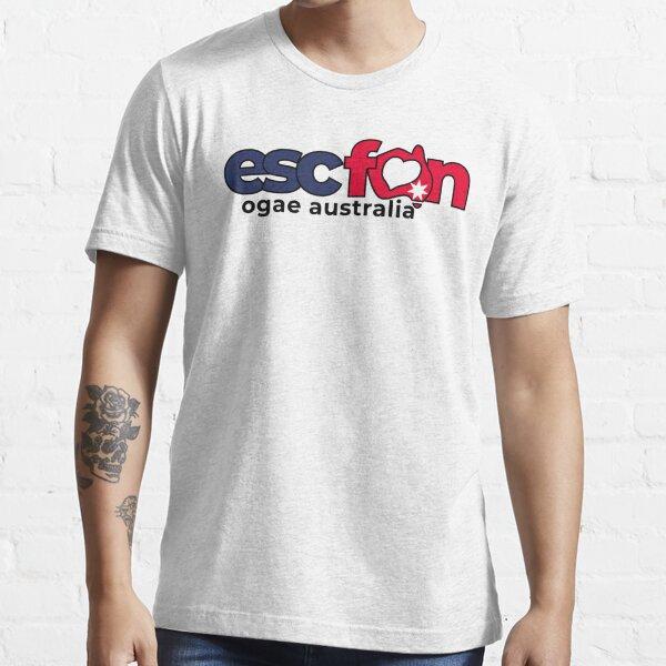 ESCFAN -OGAE Australia Logo (Black) Essential T-Shirt