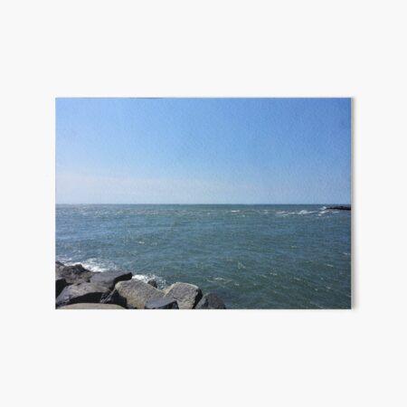 Peaceful Ocean Art Board Print