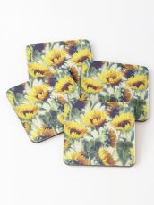 Sunflowers Forever Coasters