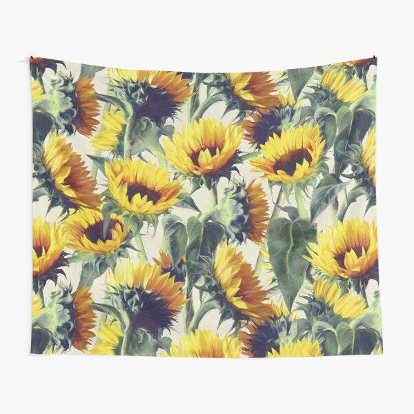 Sunflowers Forever Tapestry