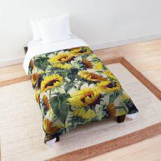 Sunflowers Forever Comforter