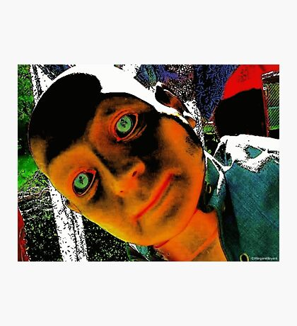 Hugo, Man of a Thousand Faces Hits the Acid Photographic Print