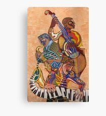 Jazz Trio Canvas Print