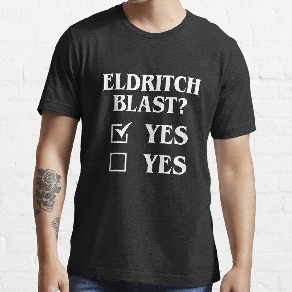 Eldritch Blast Ja Ja Funny Tabletop RPG Meme Essential T-Shirt