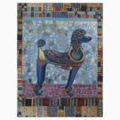 Egyptian Poodle by Sally Sargent