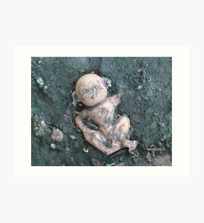 Dirty Monkey Art Print