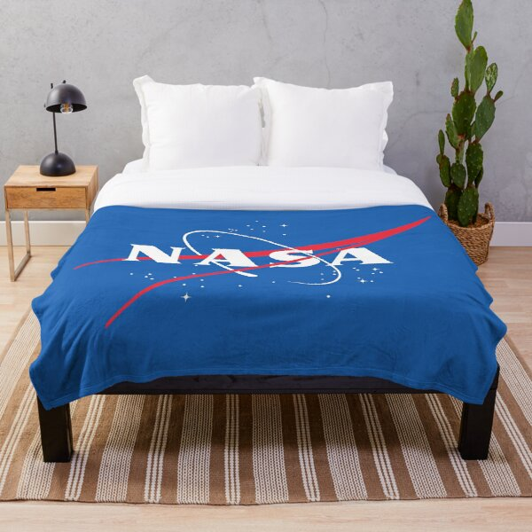 Classic NASA Logo Throw Blanket