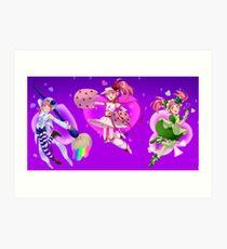 Shugo Chara Amulets Art Print