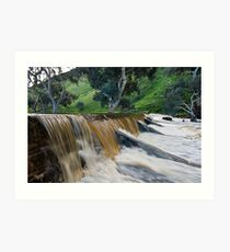 Marne River ford Art Print