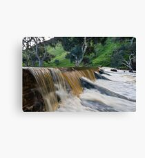 Marne River ford Canvas Print
