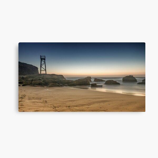Redhead Beach Shark Tower Canvas Print