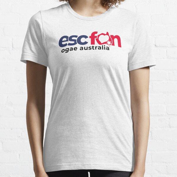 ESCFAN -OGAE Australia Logo (Black & White) Essential T-Shirt