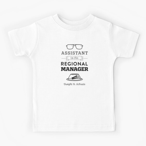 The Office Dunder Mifflin - Assistant to the Regional Manager Kids T-Shirt