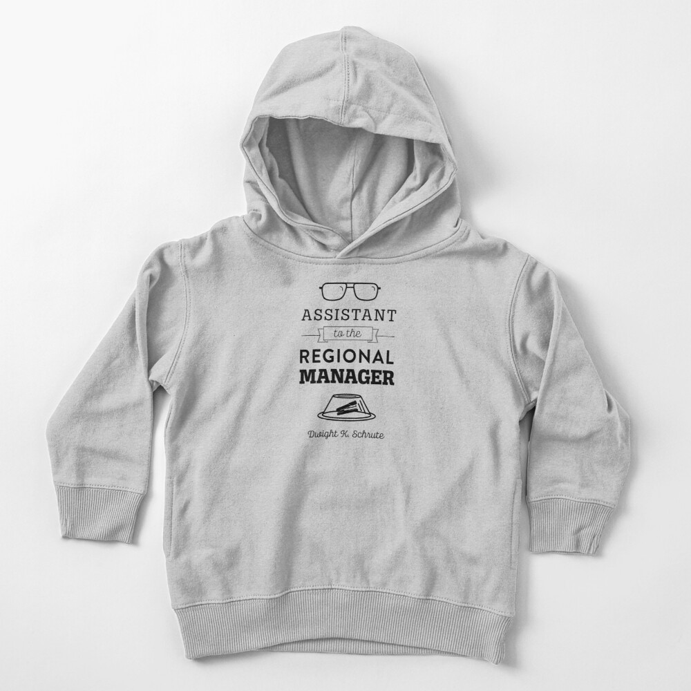 The Office Dunder Mifflin - Assistant to the Regional Manager Toddler Pullover Hoodie