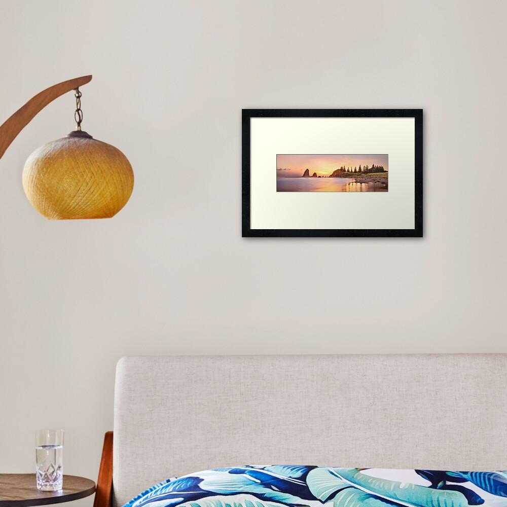 Glasshouse Rocks, Narooma, New South Wales, Australia Framed Art Print