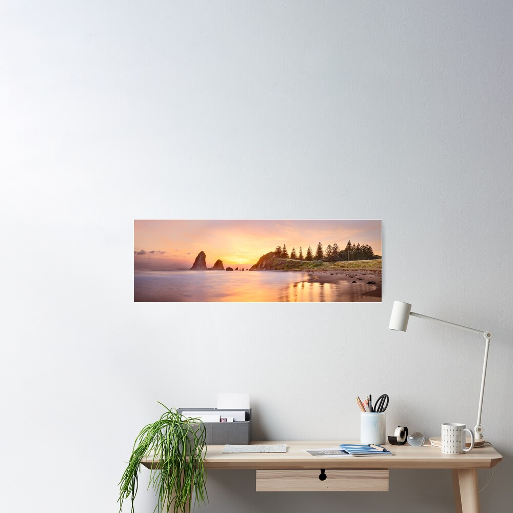 Glasshouse Rocks, Narooma, New South Wales, Australia Poster