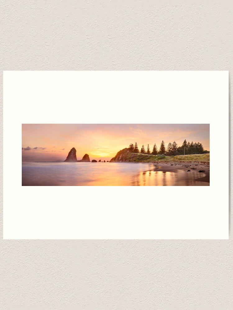 Alternate view of Glasshouse Rocks, Narooma, New South Wales, Australia Art Print