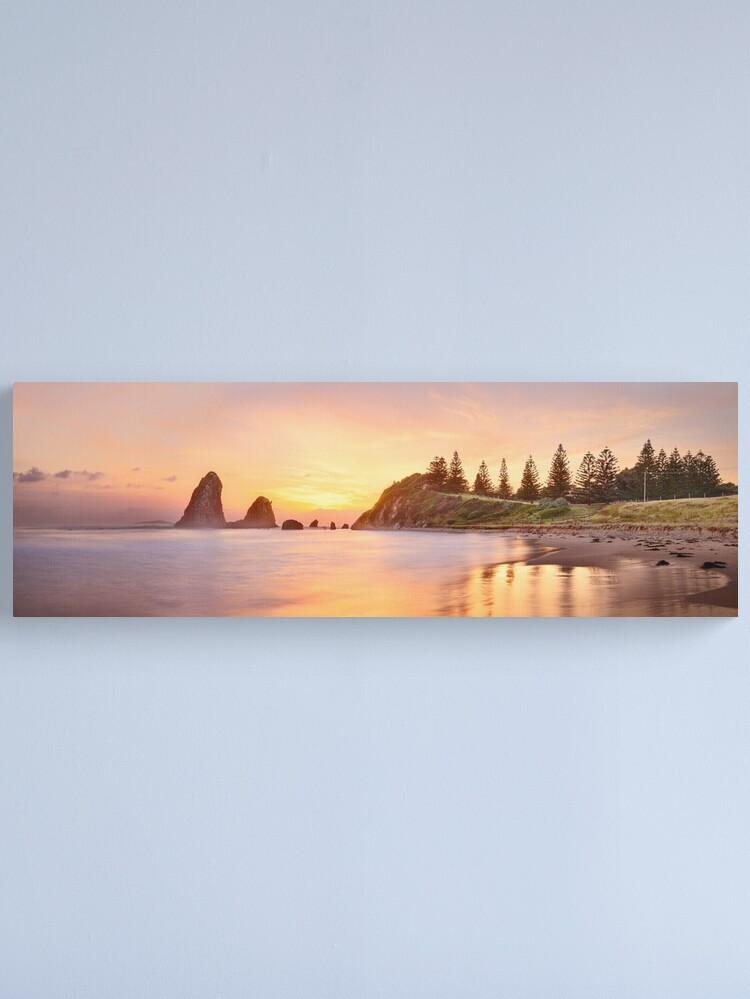 Alternate view of Glasshouse Rocks, Narooma, New South Wales, Australia Canvas Print