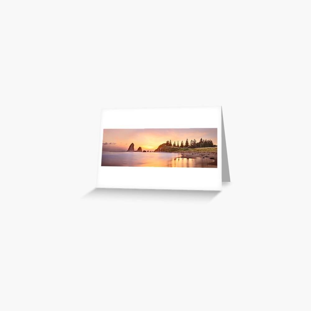 Glasshouse Rocks, Narooma, New South Wales, Australia Greeting Card