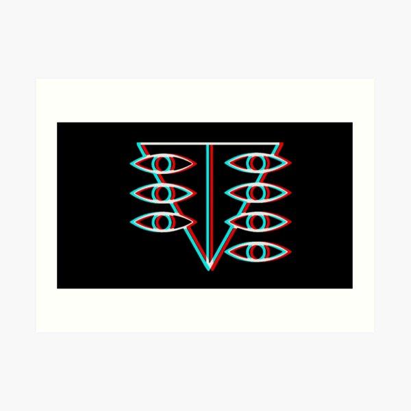 Symbole Seele Impression artistique
