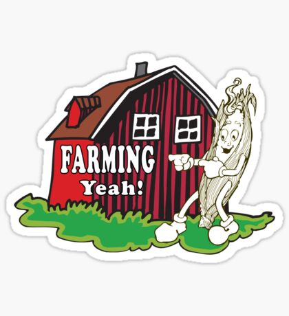 Farming Sticker