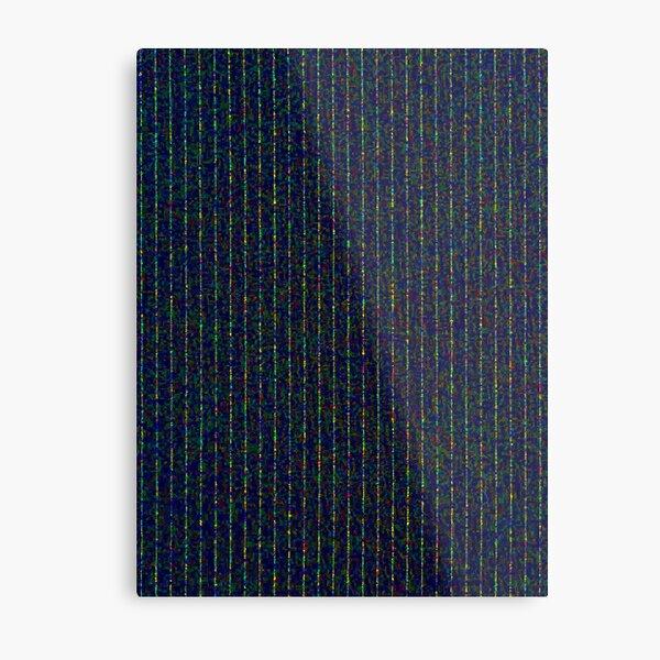 dotty pinstripe Metal Print