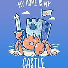 My Home is My Castle - Hermit Crab by TechraNova