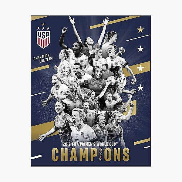 World Cup Champions! Photographic Print