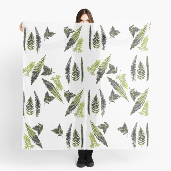 Fronds of ferns Scarf