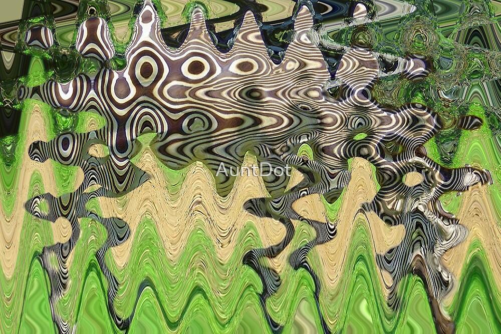 The Un-zebra by AuntDot