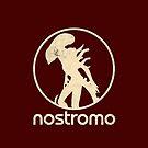 NOSTROMO - ALIEN / HR GIGER XENOMORPH PLUS LOGOTYPE by Clifford Hayes