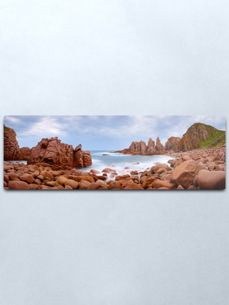 Alternate view of The Pinnacles, Phillip Island, Victoria, Australia Metal Print