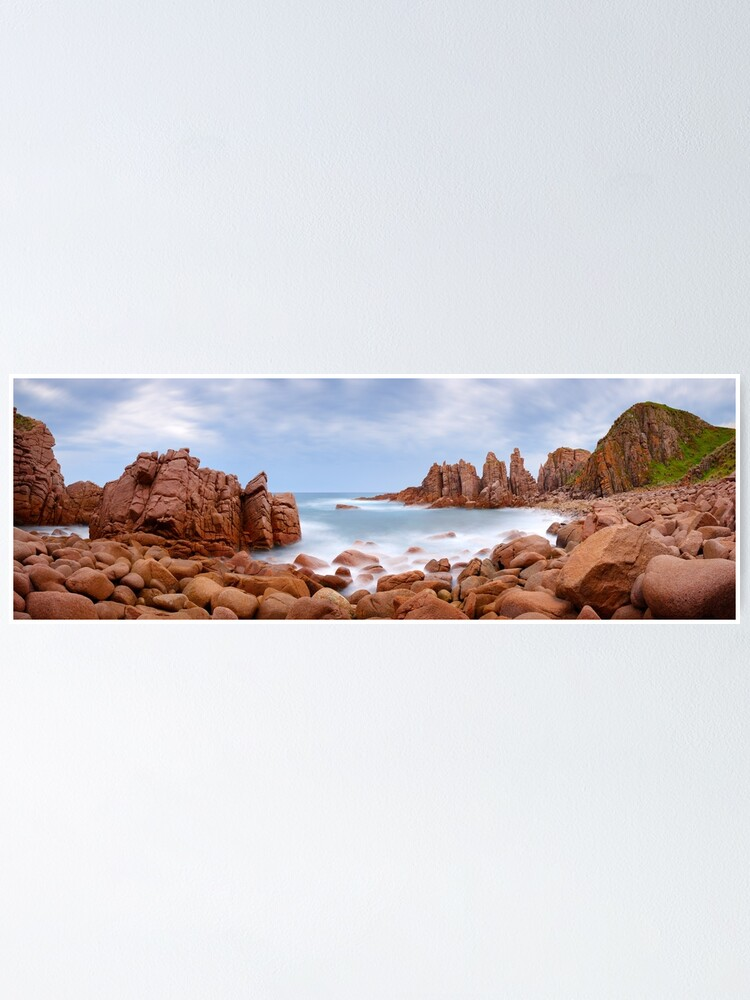 Alternate view of The Pinnacles, Phillip Island, Victoria, Australia Poster