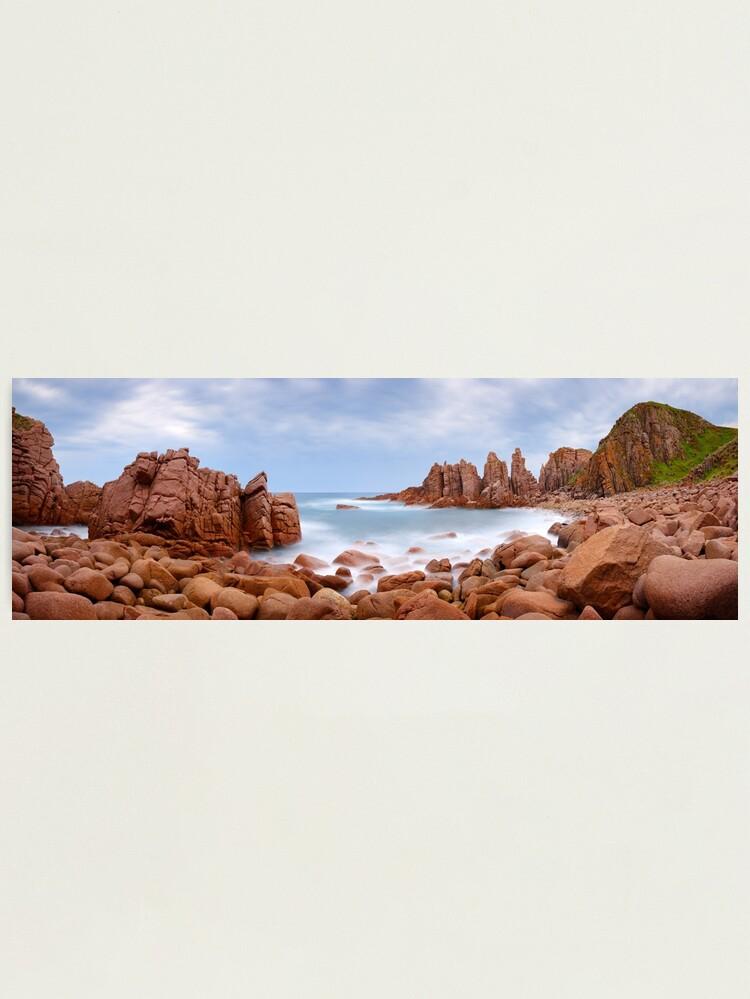 Alternate view of The Pinnacles, Phillip Island, Victoria, Australia Photographic Print