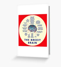THE BREXIT BRAIN - A GUIDE Greeting Card