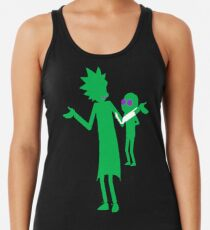 The Doc and The Boi Racerback Tank Top