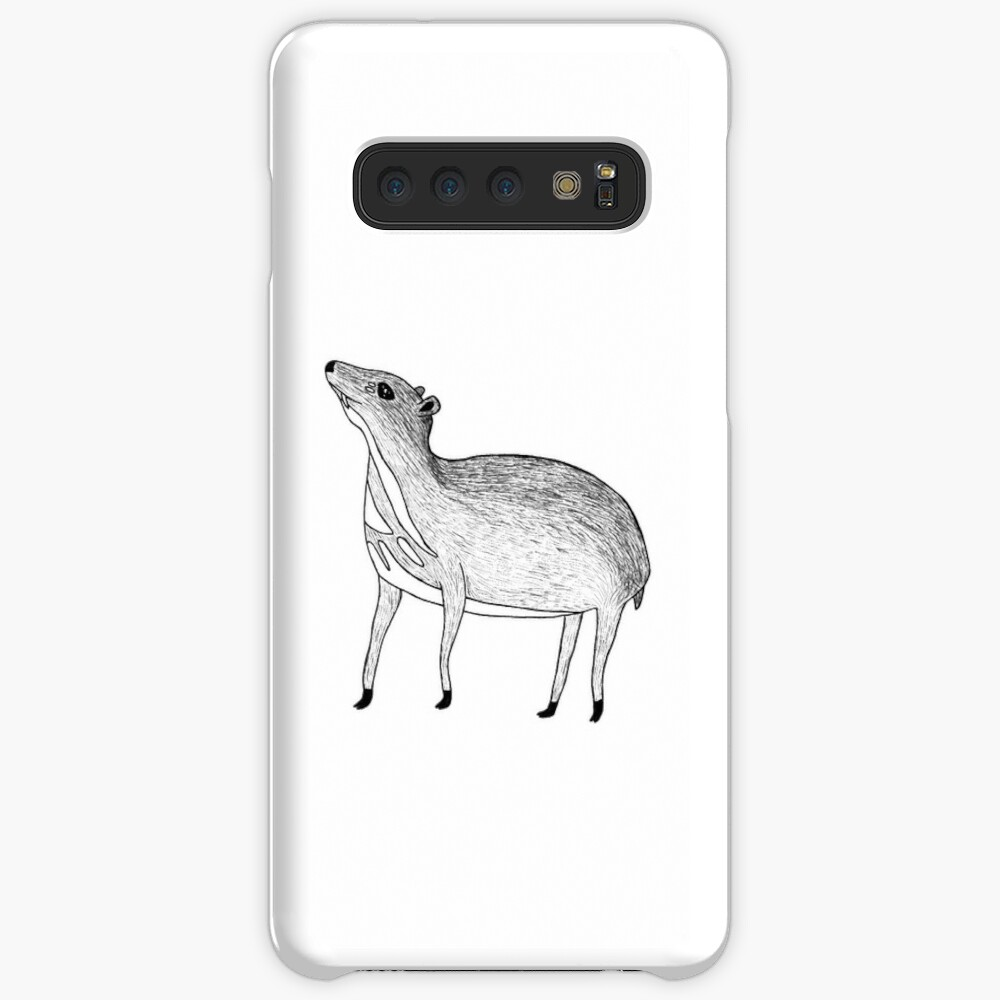 Chevrotain (ink illustrations of weird animals that are real) Samsung Galaxy Snap Case