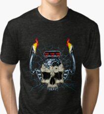 Skull Engine Tri-blend T-Shirt