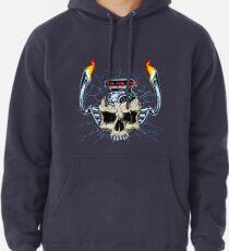Skull Engine Pullover Hoodie