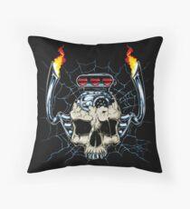 Skull Engine Floor Pillow