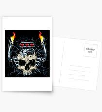 Skull Engine Postcards