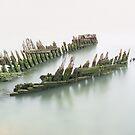 Thames Barge von lyttonimages