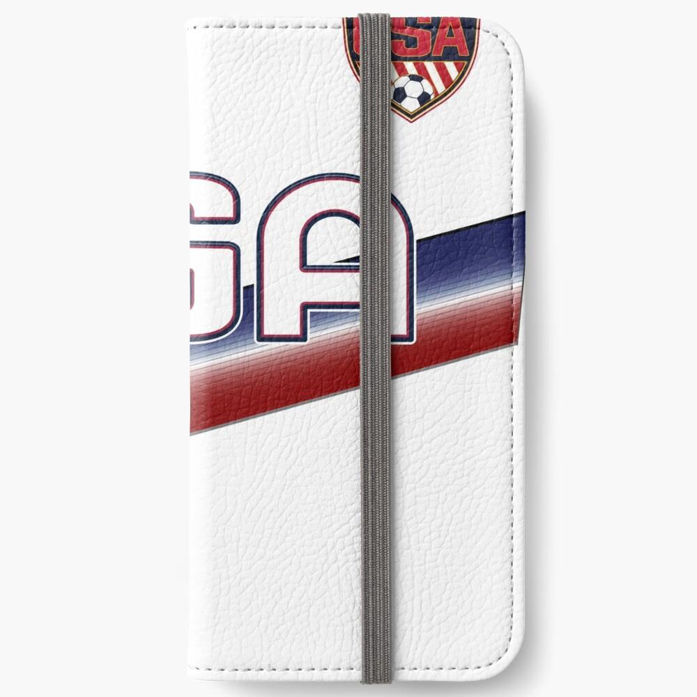 USA Soccer Female Team Nummer 13 iPhone Flip-Case