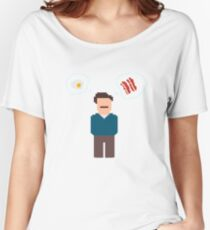 Bring Me Bacon And Eggs Women's Relaxed Fit T-Shirt