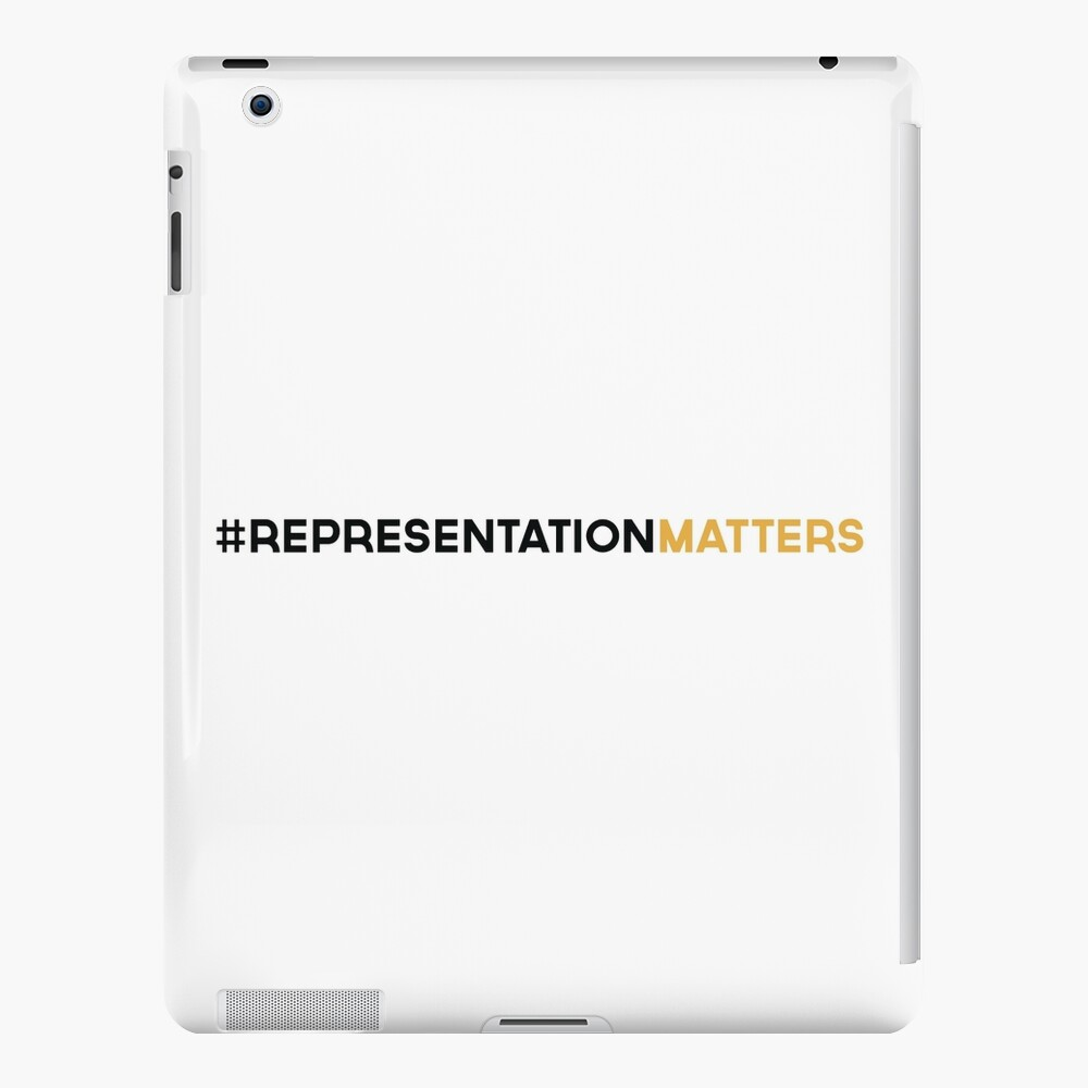 #RepresentationMatters iPad Case & Skin