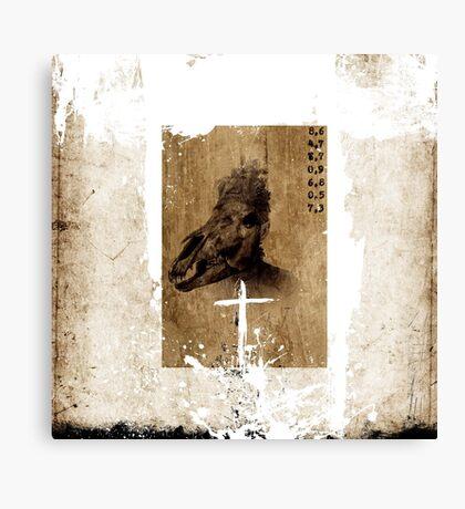CATALOGO DE BESTIAS Canvas Print