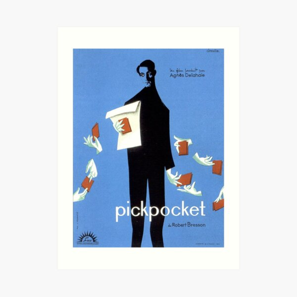 Pickpocket - Robert Bresson film Art Print